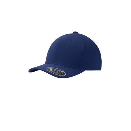 Port Authority Men's Flexfit One Ten Cool & Dry Mini Pique Cap, Navy, One - Mini Cap