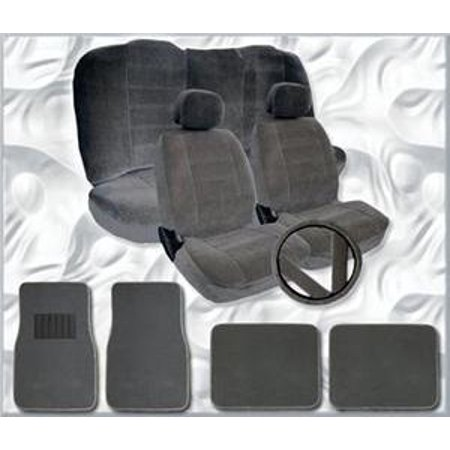 2001 2002 2003 2004 Chevy Impala Seat Covers Floor Mats Set ALL FEES INCLUDED!