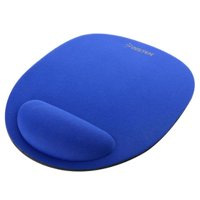 Insten Wrist Comfort Mouse Pad with Wrist Rest For Optical / Trackball Mouse, Blue