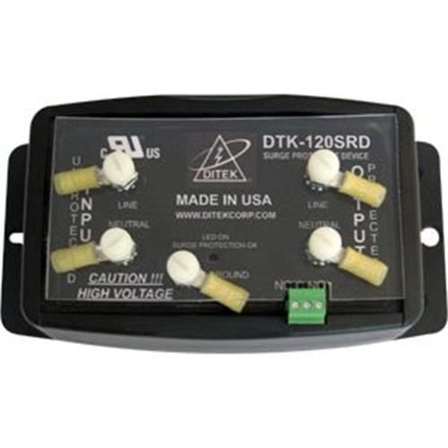 Ditek 120V-20A Hardwire Series Hybrid Filter 2W+G Dry Contacts