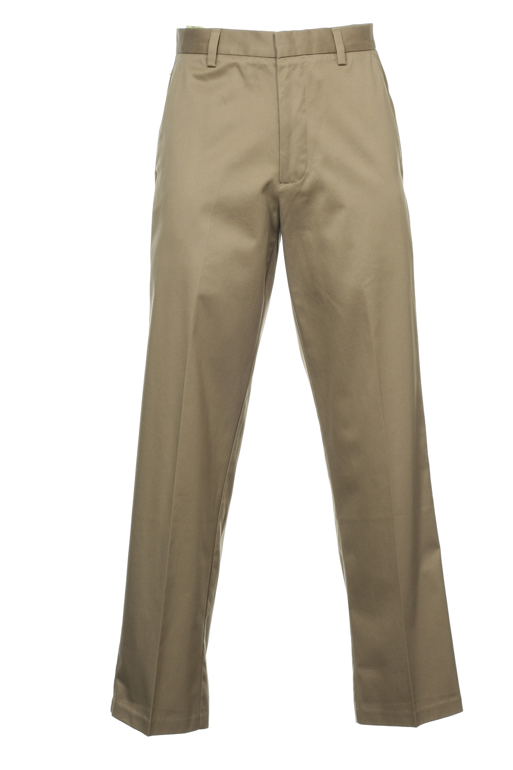 D4 by Dockers Men's Khaki Flat Front Pants by Dockers