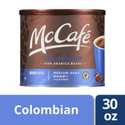 McCafe Colombian Ground Coffee, 30 oz Canister