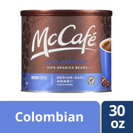 McCafe Colombian Ground Coffee, 30 oz Canister (Best Coffee In Cali Colombia)