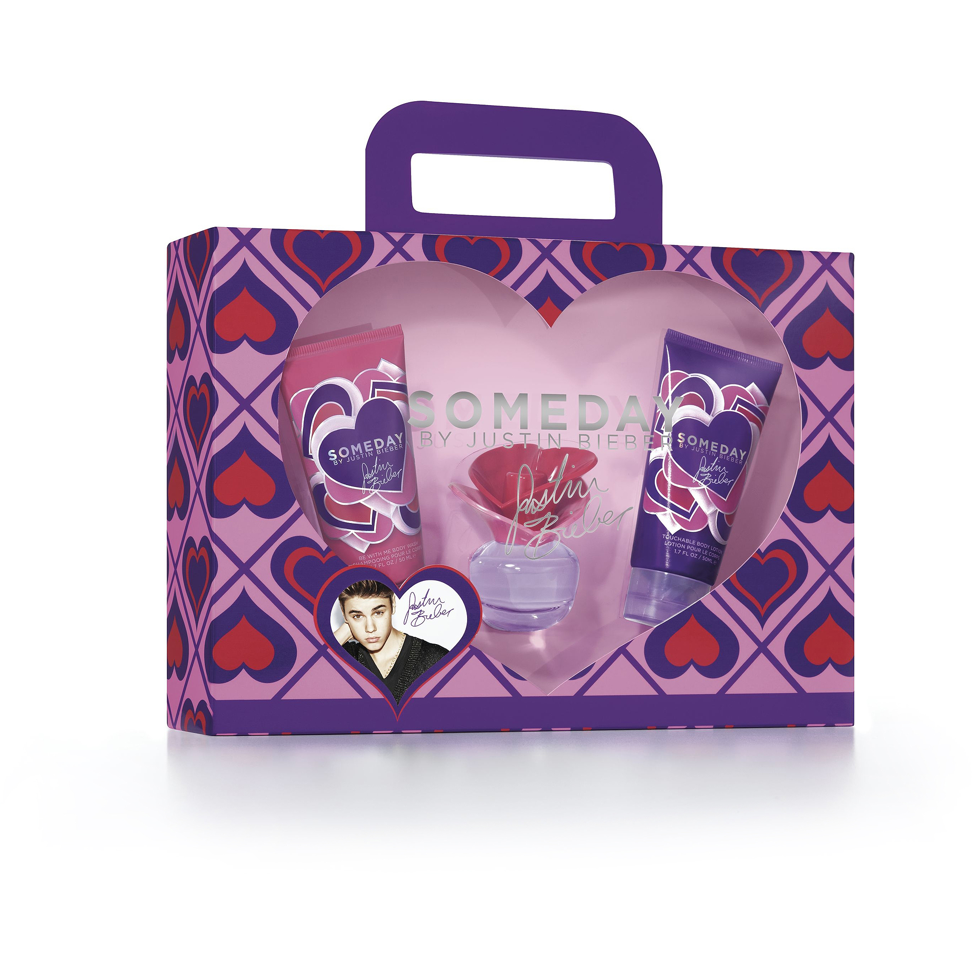 Justin Bieber Someday Gift Set for Women, 3 pc