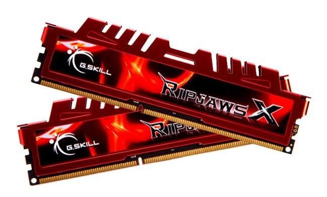 8GB G.Skill DDR3 PC3-17000 2133MHz RipjawsX Series CL9 (9-11-11-31) Dual Channel kit