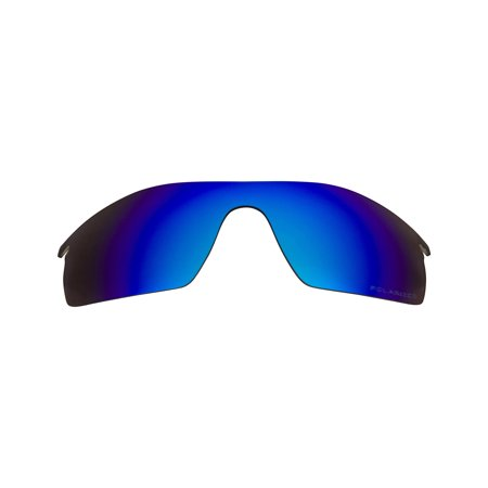 dd3afc9bd6 best seek polarized replacement lenses for oakley radarlock pitch blue  mirror Image 1 of 7