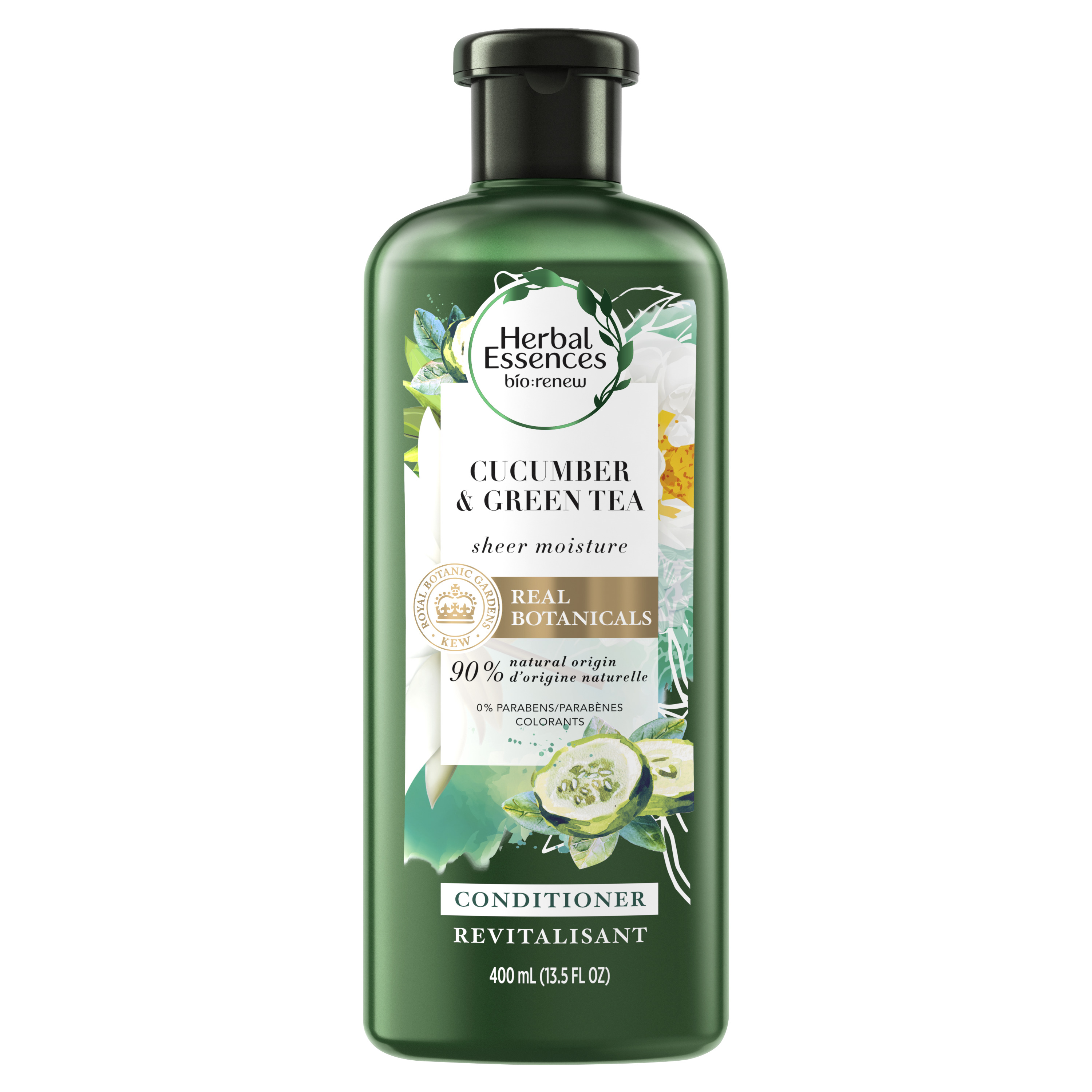 Herbal Essences bio:renew Cucumber & Green Tea Sheer Moisture Conditioner, 13.5 fl oz