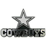 NFL Dallas Cowboys Chrome Automobile Emblem