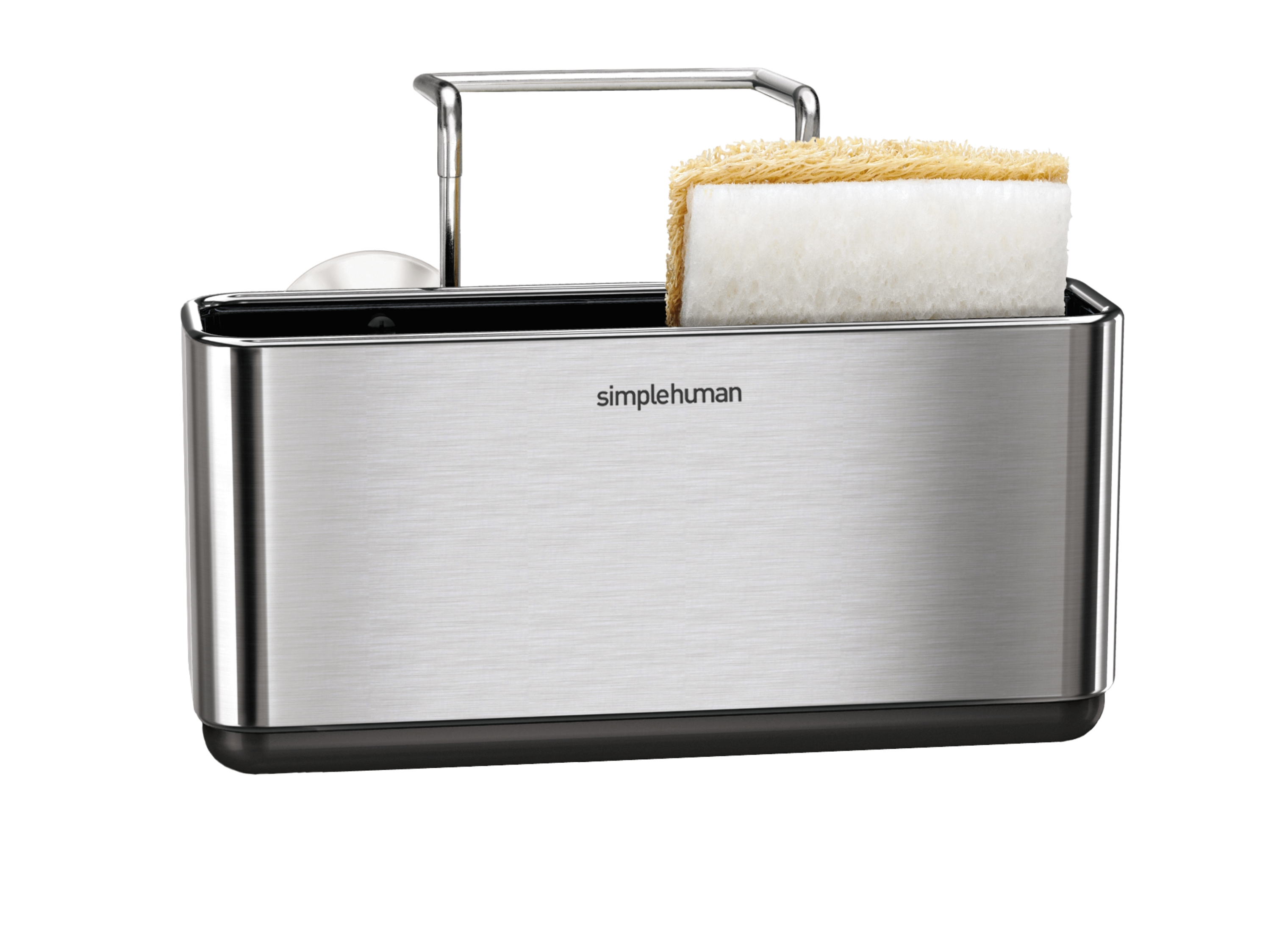 Merveilleux ... Simplehuman Slim Sink Caddy Brushed Stainless Steel