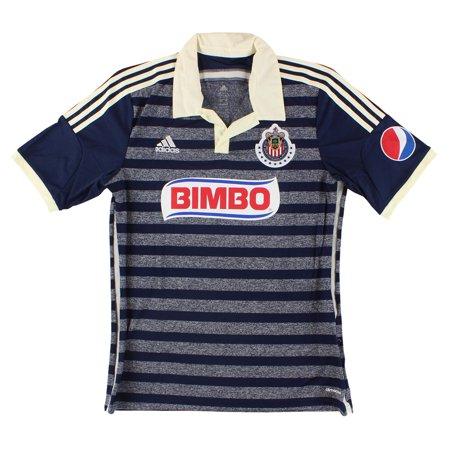 833dba6f2 adidas - Mens Chivas De Guadalajara Away Soccer Jersey Collegiate Navy -  Walmart.com
