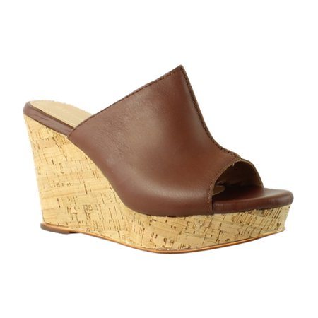 New Ladies Brown Wedge Heel - Mas Artisan Womens  Brown Platform & Wedges Heels Size 8 New