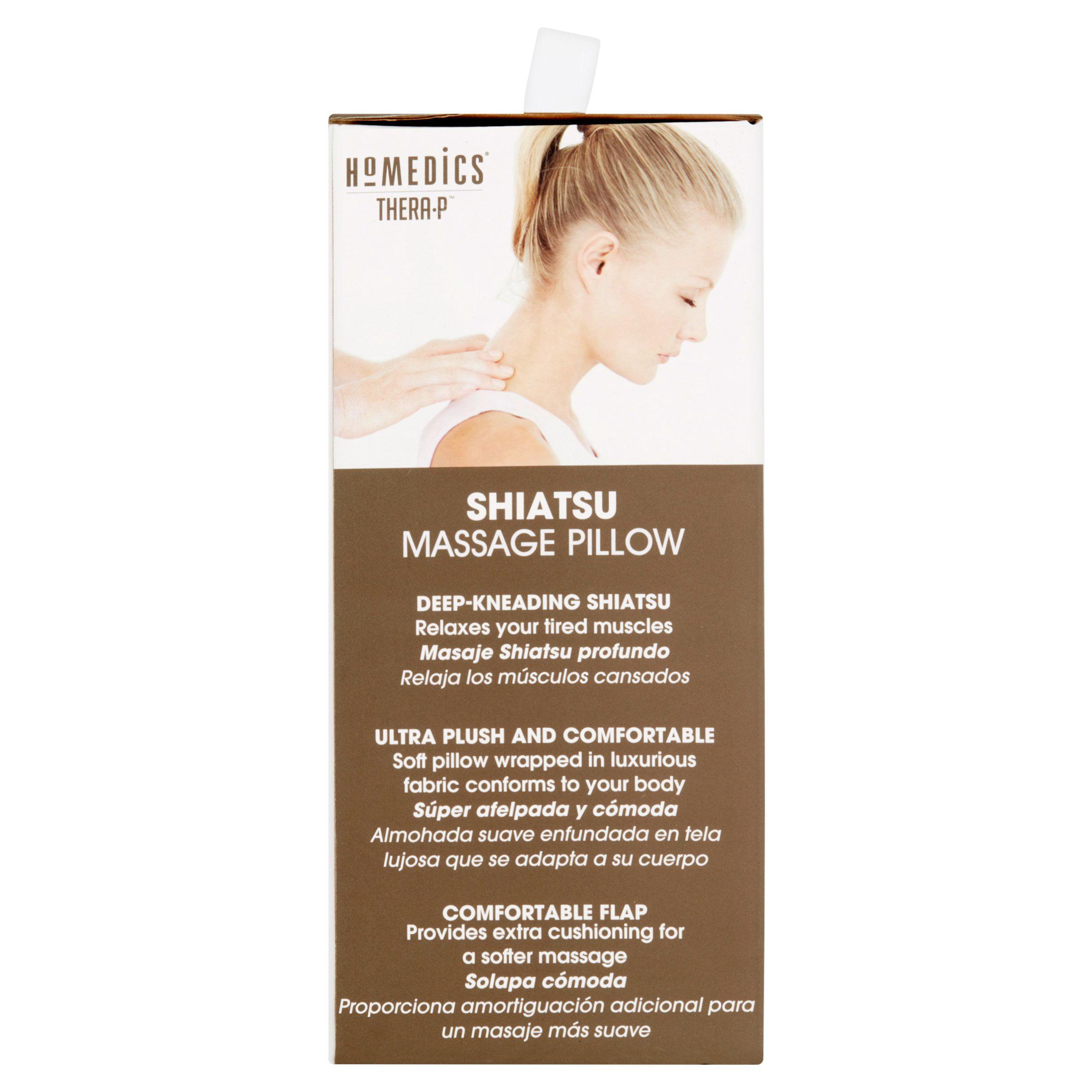 HoMedics Shiatsu Massage Pillow Walmart
