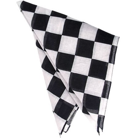 Set Of 12 Checkered 19