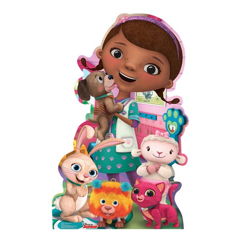 "Advanced Graphics 2164 Doc McStuffins Pet Vet (Disney Junior) - 45"" x 28"" Cardboard Standup"