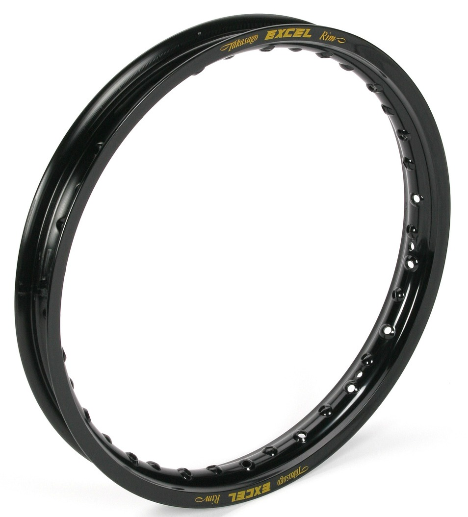 Excel Colorworks Rear MX Rim 18 x 2.15 Black Fits 95-01 H...