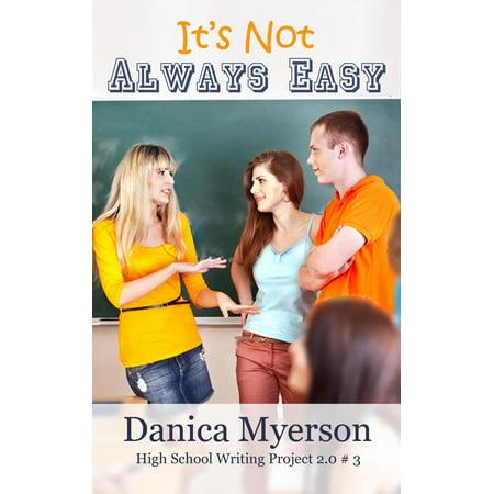 It's Not Always Easy - eBook (Short Story Writing Activities For High School)