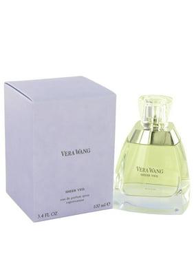 Vera Wang SHEER VEIL Eau De Parfum Spray for Women 3.4 oz