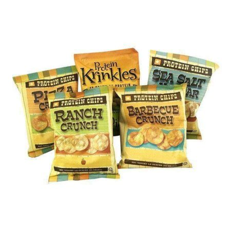BariatricPal Protein Chips & Crinkles - 5 Flavor Variety