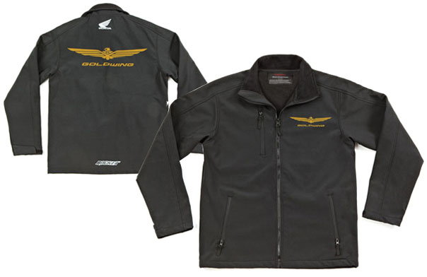 Honda Ladies Grey Softshell Jacket