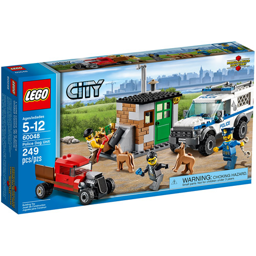 LEGO City Police Dog Unit Building Set