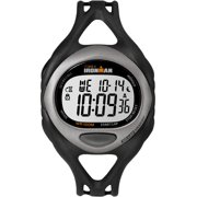 Timex Men's Ironman Sleek 50 Black/Silver Resin Strap Watch
