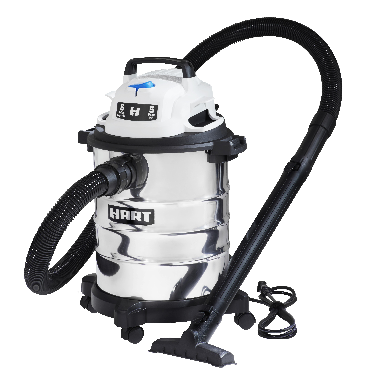 Hart Stainless Steel Wet/Dry Vacuum