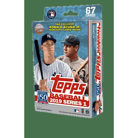 Topps 2019 Baseball Series 1 Trading Card Hanger Pack (Retail)