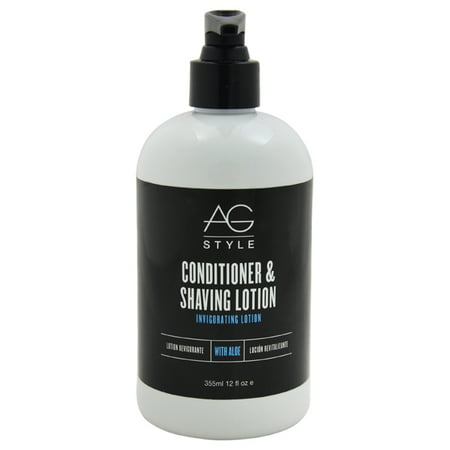 AG Hair Cosmetics Conditioner & Shaving Lotion Invigorating Lotion For Men 12 oz