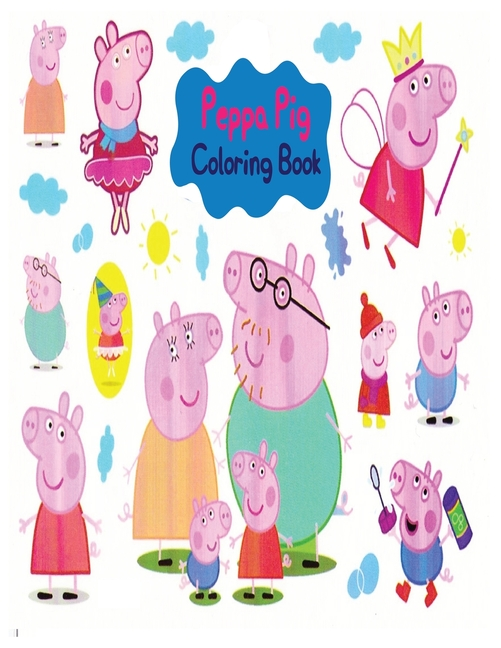 Peppa Pig Coloring Book : High-quality Peppa Pig Coloring Book With Cool  Images For All Kids (Paperback) - Walmart.com - Walmart.com