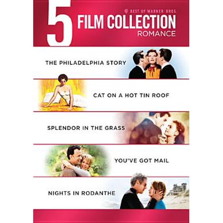Best Of Warner Bros. 5 Film Collection: Romance - The Philadelphia Story / Cat On A Hot Tin Roof / Splendor In The Grass / You've Got Mail / Nights In Rodanthe
