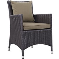Modway Convene Outdoor Patio Dining Armchair, Multiple Colors