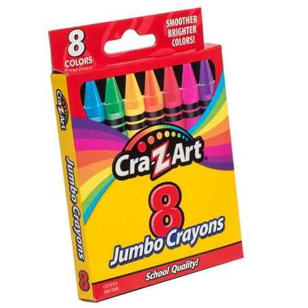 Cra-Z-Art Jumbo Crayons, 8 Count
