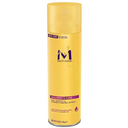 Beautiful Oil Sheen Spray - Motions Oil Sheen and Conditioning Spray, 11.25 Oz