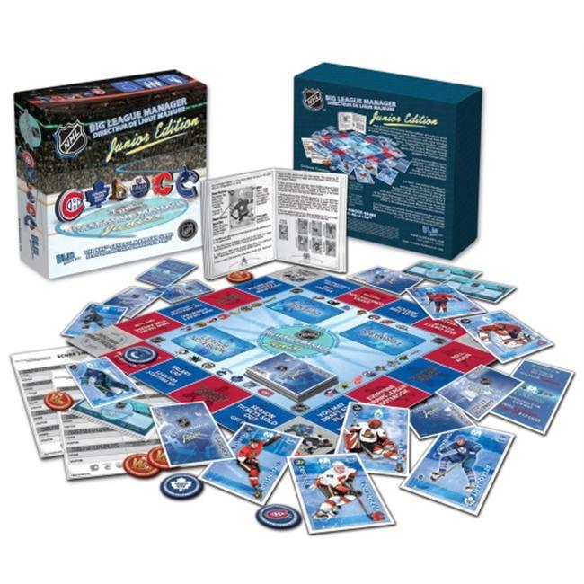 BLM Games A4-00110 NHL Big League Manager Junior Edition