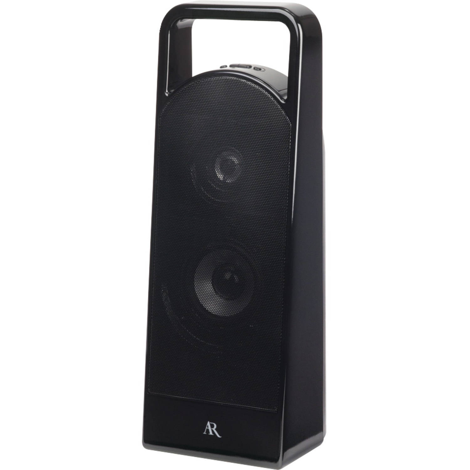Acoustic Research AS3BK Portable Bluetooth Wireless Speaker with 3.5mm Aux Input by Accoustic Research