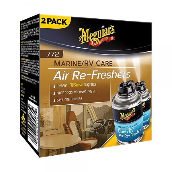 Meguiars M77200 Boat/Rv Air Refresher - 2.5 oz -2 Cans