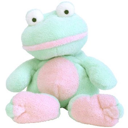 TY Pluffies - GRINS the Frog (11 inch)