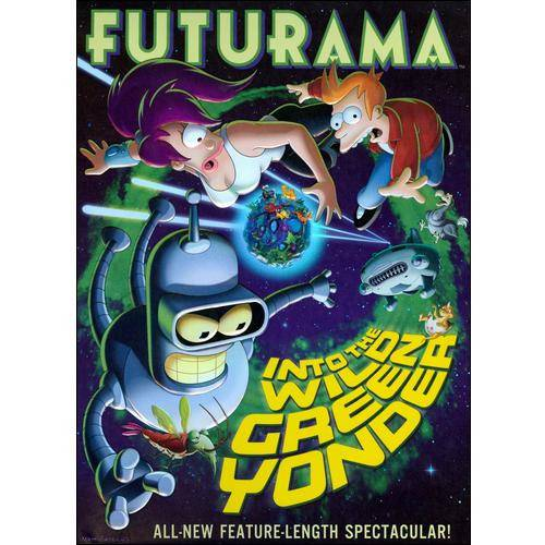 Futurama: Into The Wild Green Yonder (Widescreen)