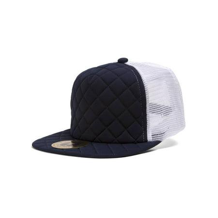 255536d0 TOP HEADWEAR - TopHeadwear Quilted Adjustable Trucker Hat - Walmart.com
