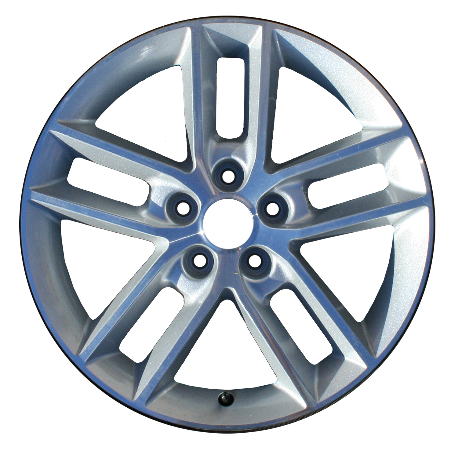 2008-2013 Chevrolet Impala  18x7 Alloy Wheel, Rim Sparkle Silver Painted with Machined Face - 5333