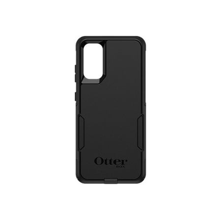 OtterBox Commuter Series - Back cover for cell phone - polycarbonate, synthetic rubber - black - for Samsung Galaxy S20, S20 5G