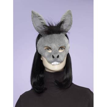 ANIMAL MASK-DONKEY W/ELASTIC - Dopey Costume