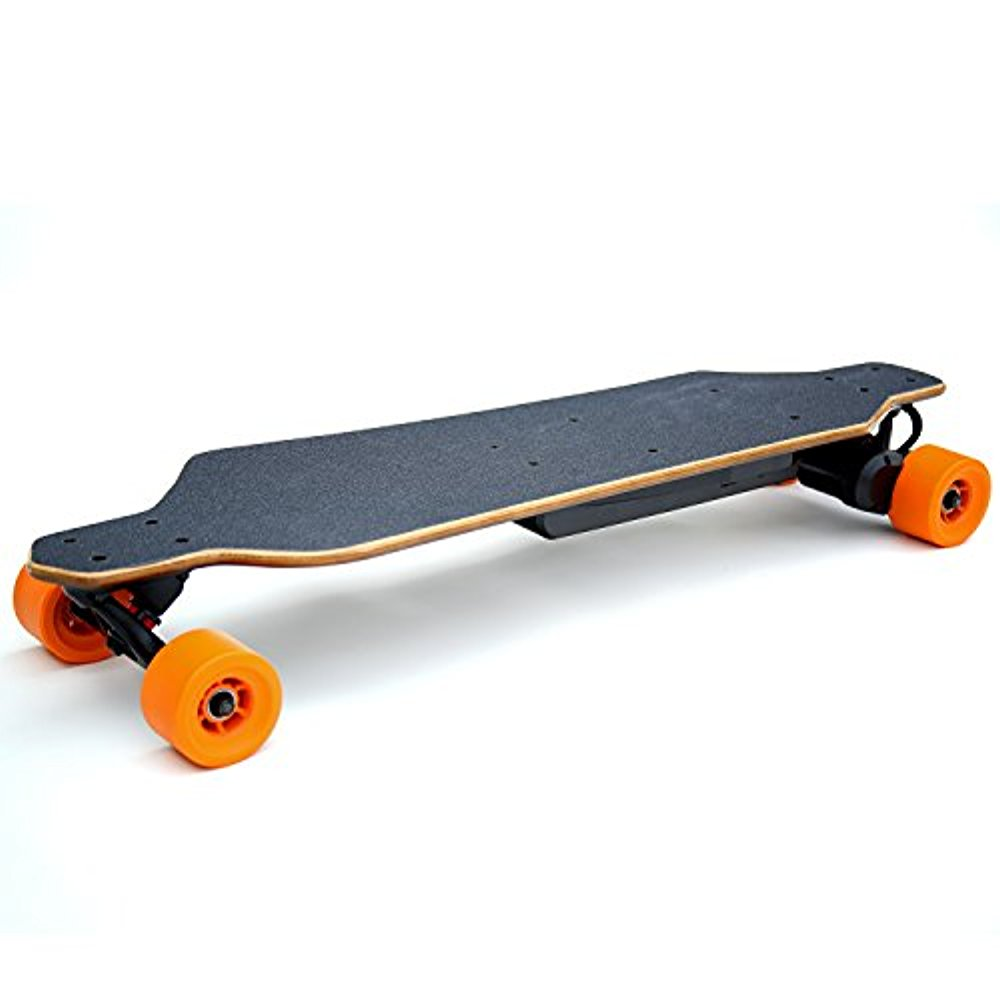 Ivation 21 MPH Electric Skateboard Longboard 18 Mile Range and Cruise Control  Walmart.com