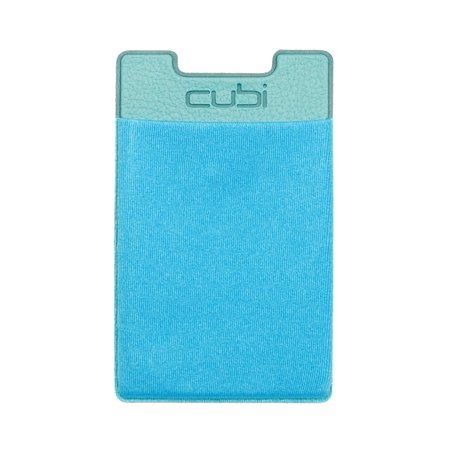 Ultra-slim Self Adhesive Credit Card Wallet for Smartphones, Blue Raspberry, CardNinja can store up to 8 cards AND cash using a durable elastic fabric (driver's license,.., By CardNinja Ship from