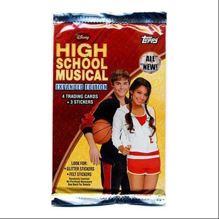 Trading School (Disney High School Musical 2 Expanded Edition Trading Card Sticker)