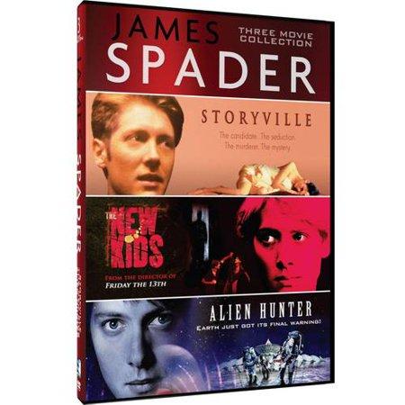 James Spader Three Movie Collection  The New Kids   Storyville   Alien Hunter
