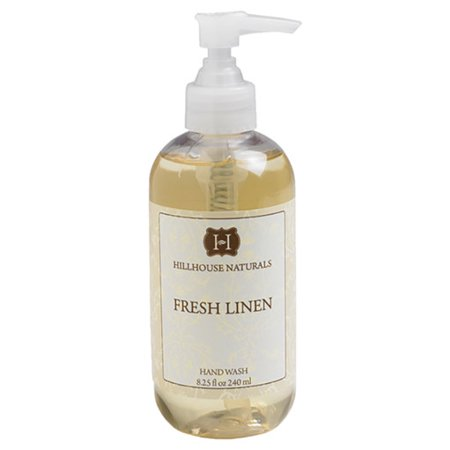 Hillhouse Naturals Hand Wash 8.25 Oz. - Fresh Linen