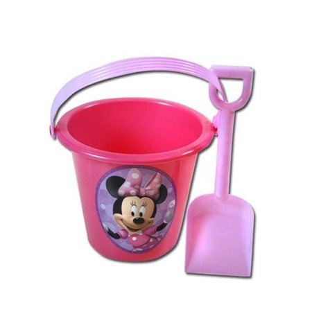 Minnie Mouse Pink Sand Bucket and Shovel For Birthday party Favor - Gift Buckets