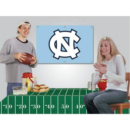 (NCAA Football Party Kit, North Carolina Tar Heels)