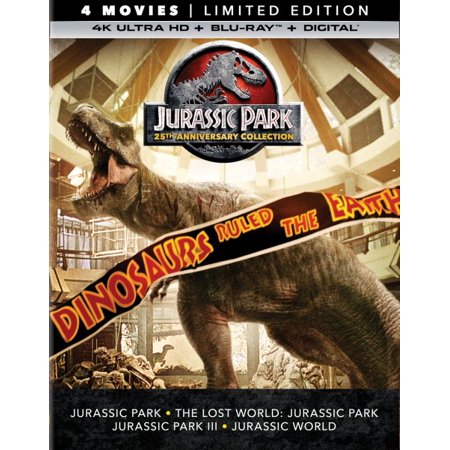 Jurassic Park (25th Anniversary Collection) (Limited Edition) (4K Ultra HD + Blu-ray +